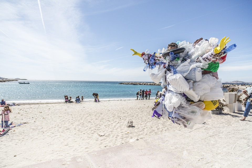 Trash, Waste, Beach, Plastic, Recycling, Collection