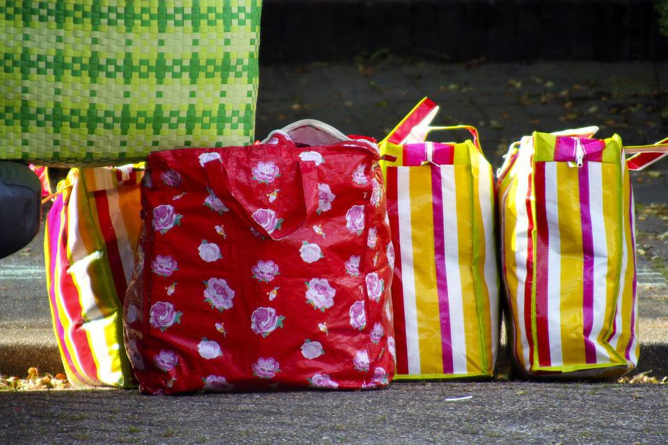 Bags, Plastic, Shopping, Household, Colorful, Sunny