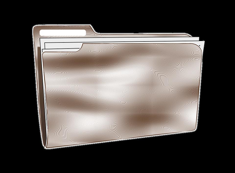 Document, Folder, Full, Logo, Plastic