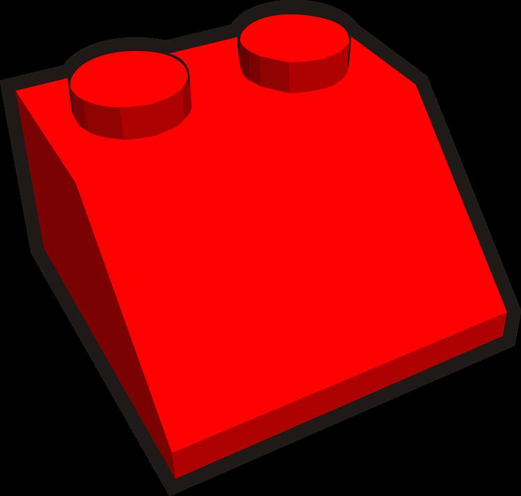 Brick, Red, Red Brick, Plastic