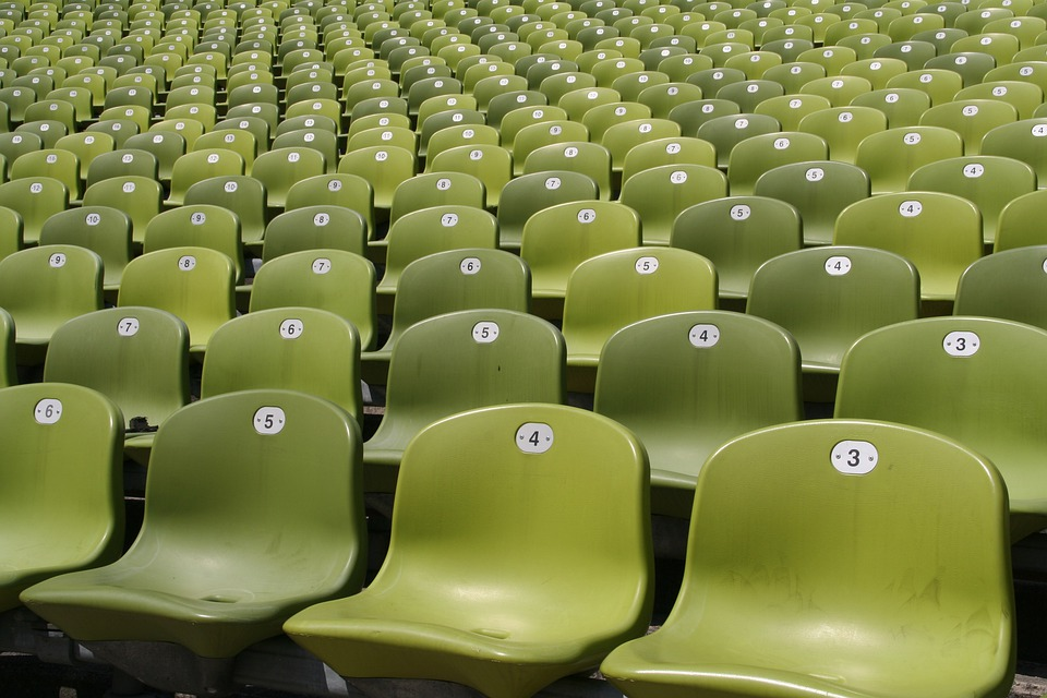 Stadium, Sit, Plastic, Colorful, Munich