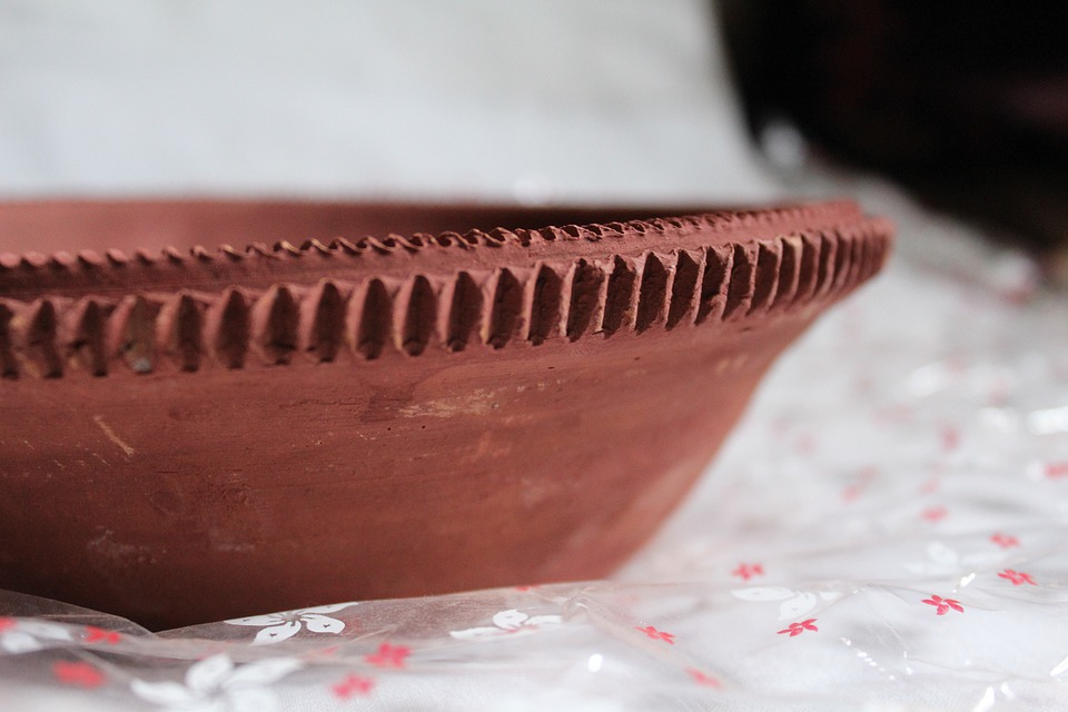 Plate, Brown, Pot, Clay, Ceramic, Pottery, Earthenware