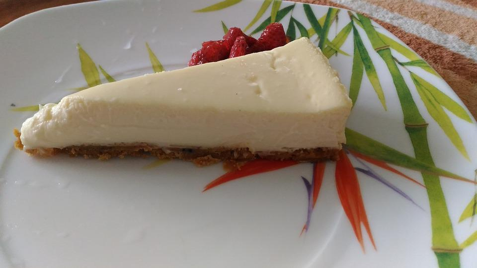 Cooking, Cheesecake, Plate, Food, Berry, Dish, Tasty