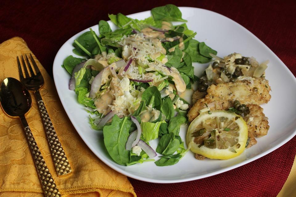 Food Meal Dinner Plate Vegetable Healthy Cooking