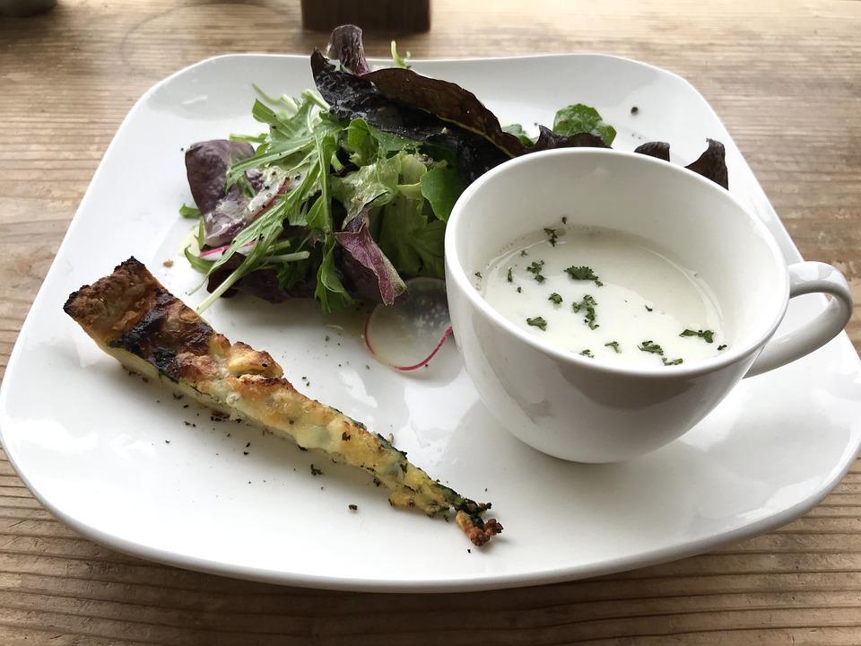 Hood, Diet, Plate, Healthy, Vegetables, Restaurant
