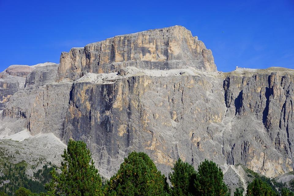 free photo plateau rocks sass pordoi sella massif max pixel