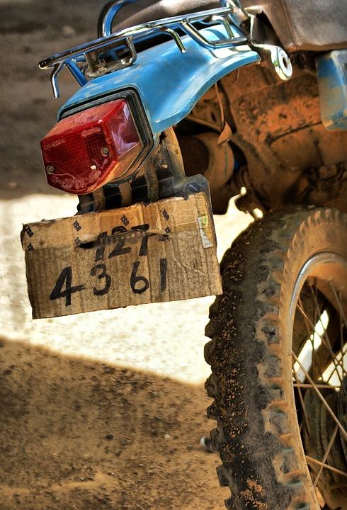 Moto-bike, Humor, Plates, Bike, India