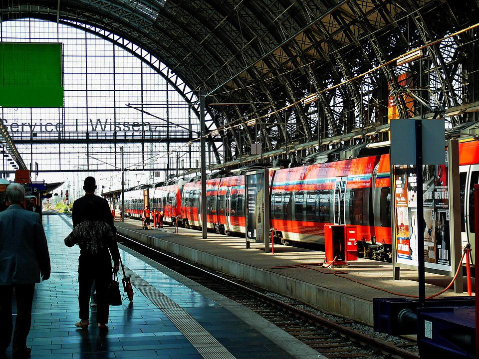 Architecture, Train Ride, Railway Station, Platform