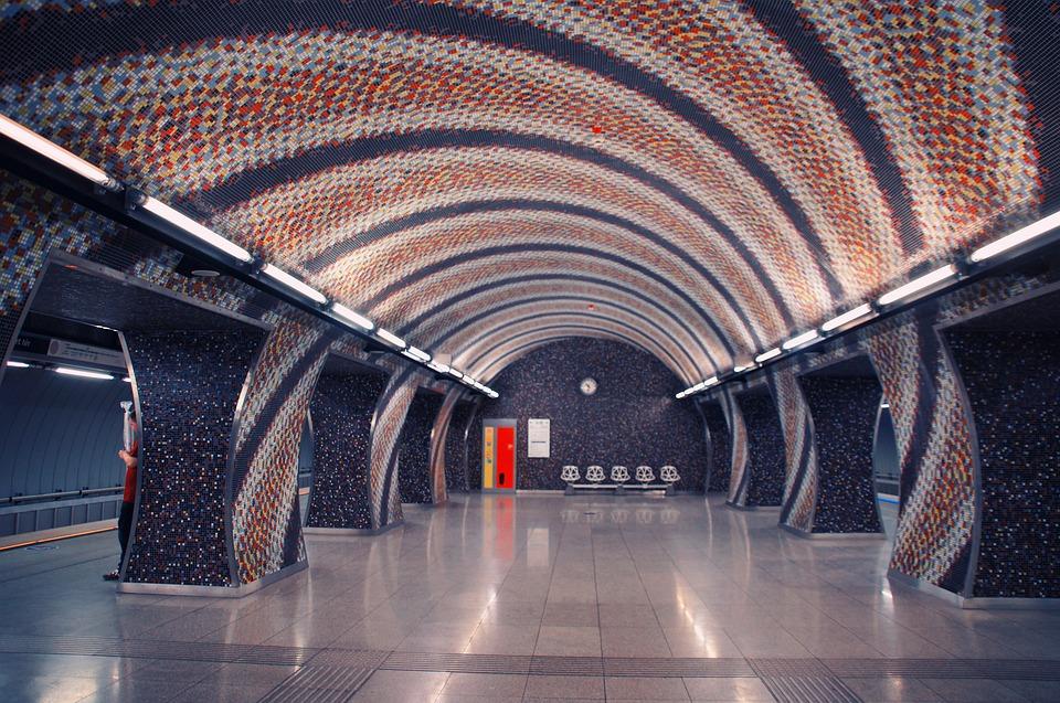 Metro, Station, Platform, Metro Station, Budapest
