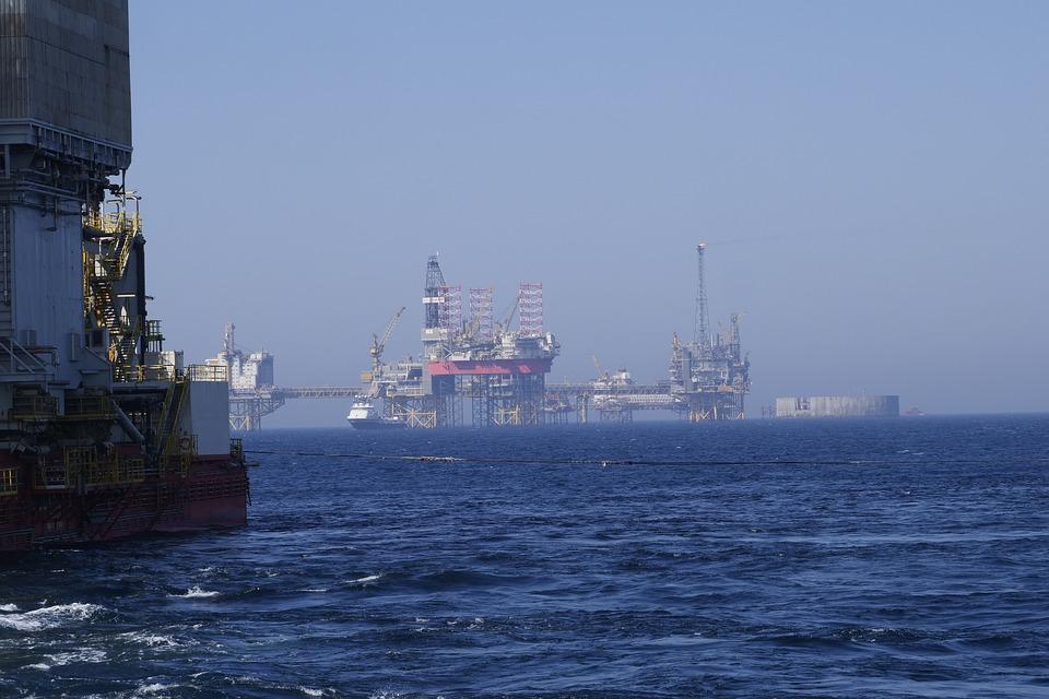 Oil Industry, Oil, Platform, Drilling Rigs