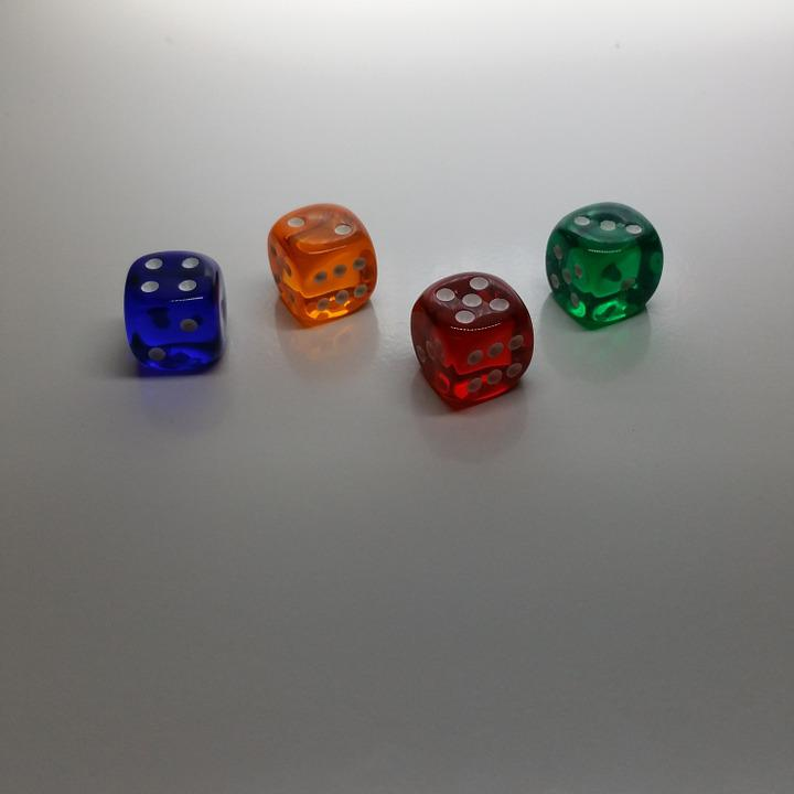 Cube, Colorful, Luck, Play, Background, Color