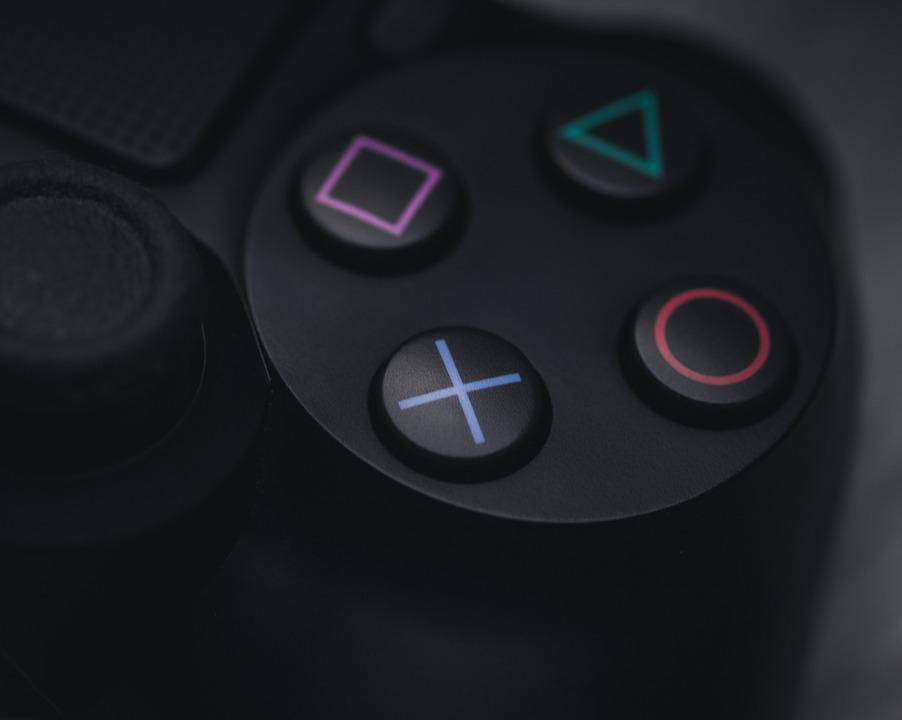 Controller, Games, Gaming, Play, Playstation, Console