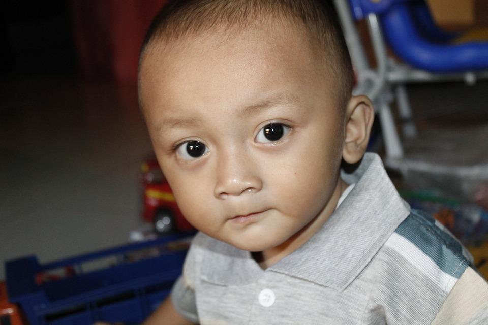 Eye, Face, Child, Indonesian, Play, Joy, Man, Boy