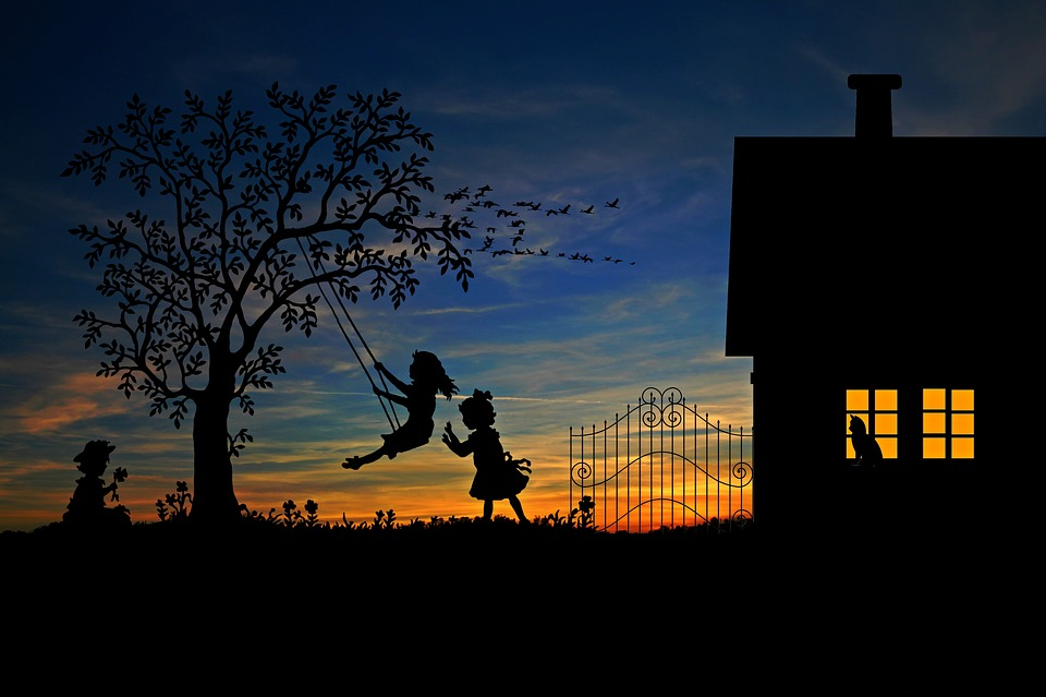 Children, Play, Rock, Leisure, Play Outside, Swing
