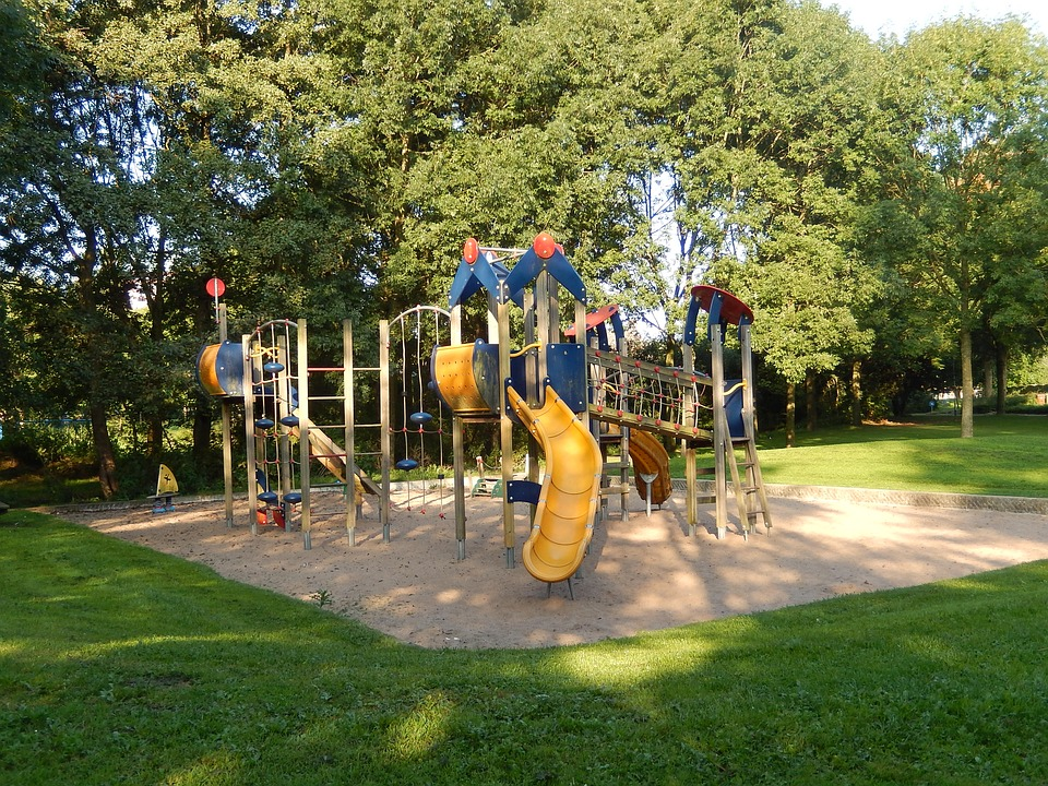 Children's Playground, Playset, Play, Children, Park