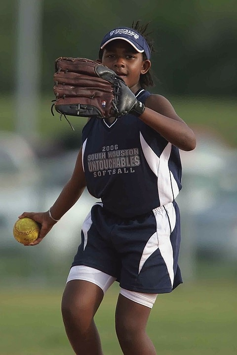 Softball, Player, Game, Competition, Throwing, Play