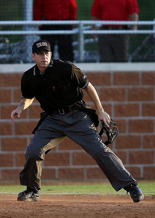 Umpire, Baseball, Game, Sport, Icon, Play, Home