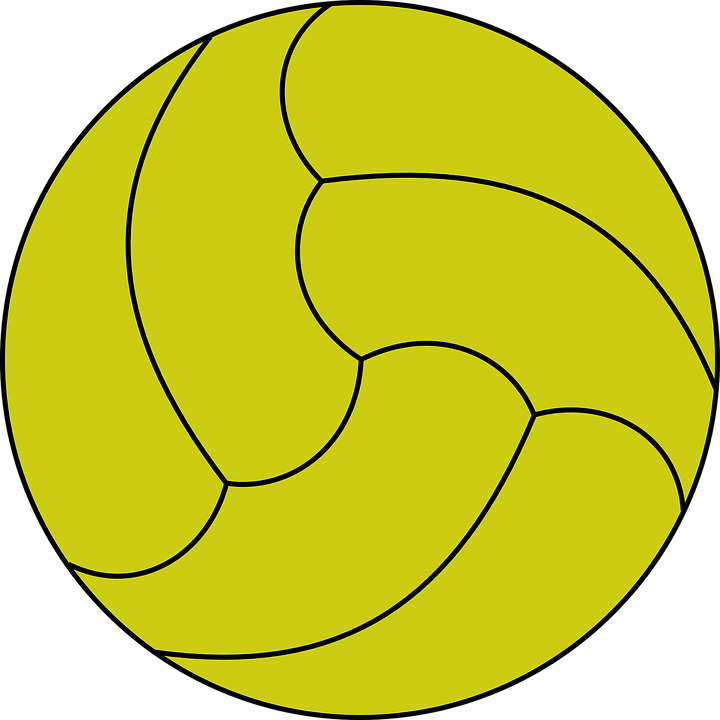 Volleyball, Ball, Play, Inflated, Sport