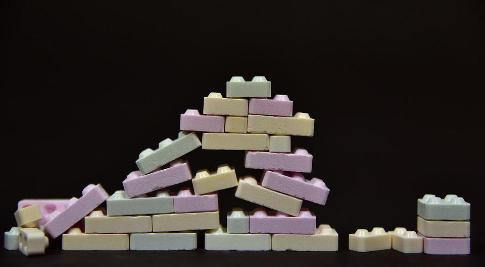 Wall, Site, Build, Play Stone, Colorful, Stones, Insert