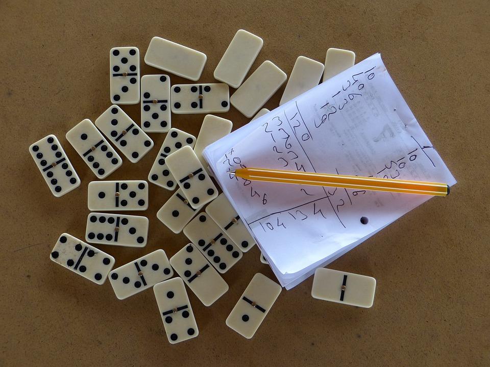 Domino, Stones, Dominoes, Play Stone, Play, Pastime