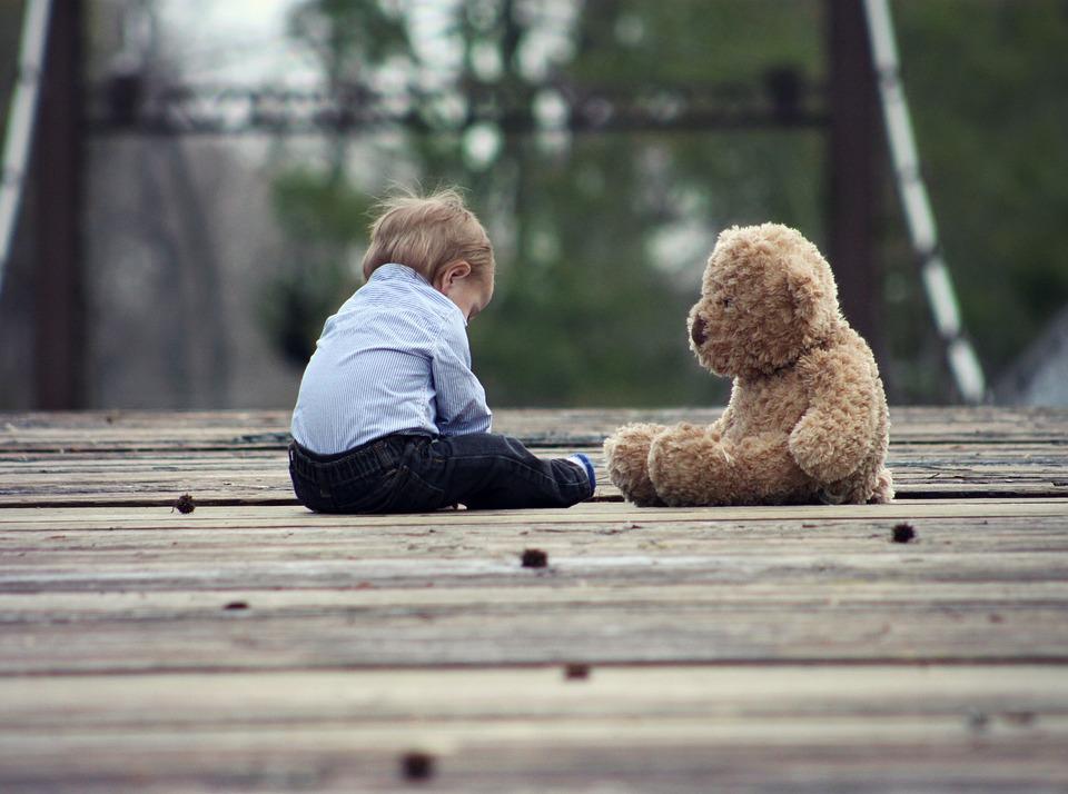 Baby, Teddy Bear, Play, Toy, Teddy, Bear, Cute, Child