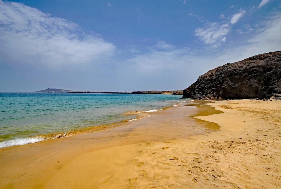 Playa Del Pozo, Lanzarote, Canary Islands, Spain