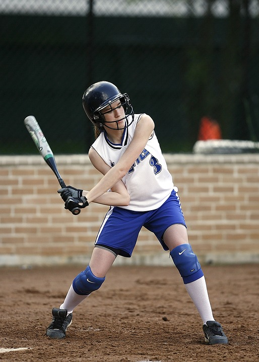 Softball, Batter, Female, Player, Hitter, Game