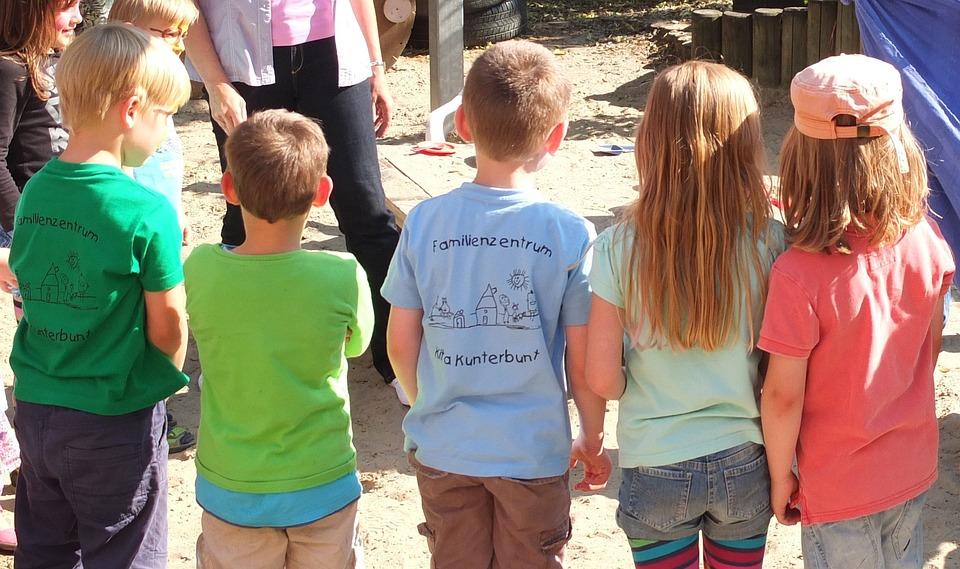 Child, Children, Playground, Move, Kindergarten