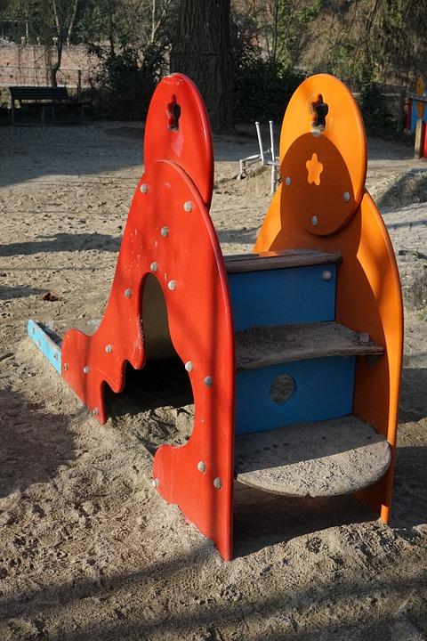 Children's Playground, Slide, Playground
