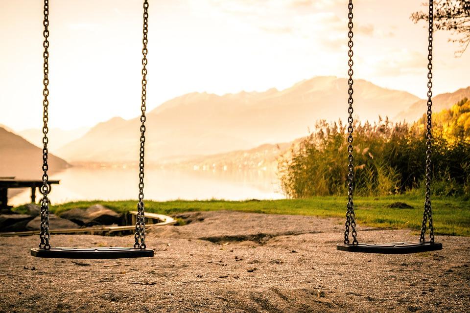 Swing, Playground, Swing Device, Children's Playground