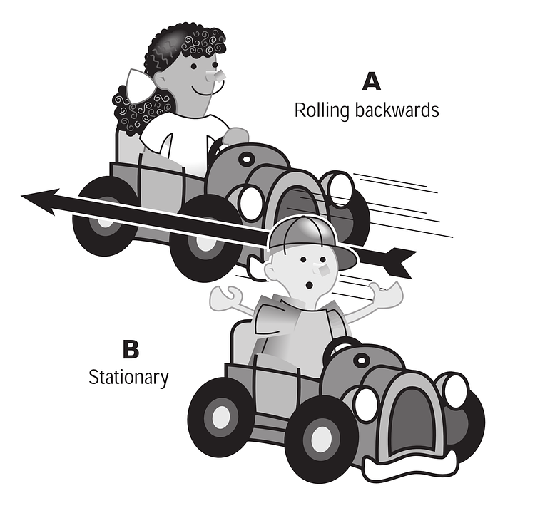 Soapbox, Children, Racing, Playing, Boy, Girl