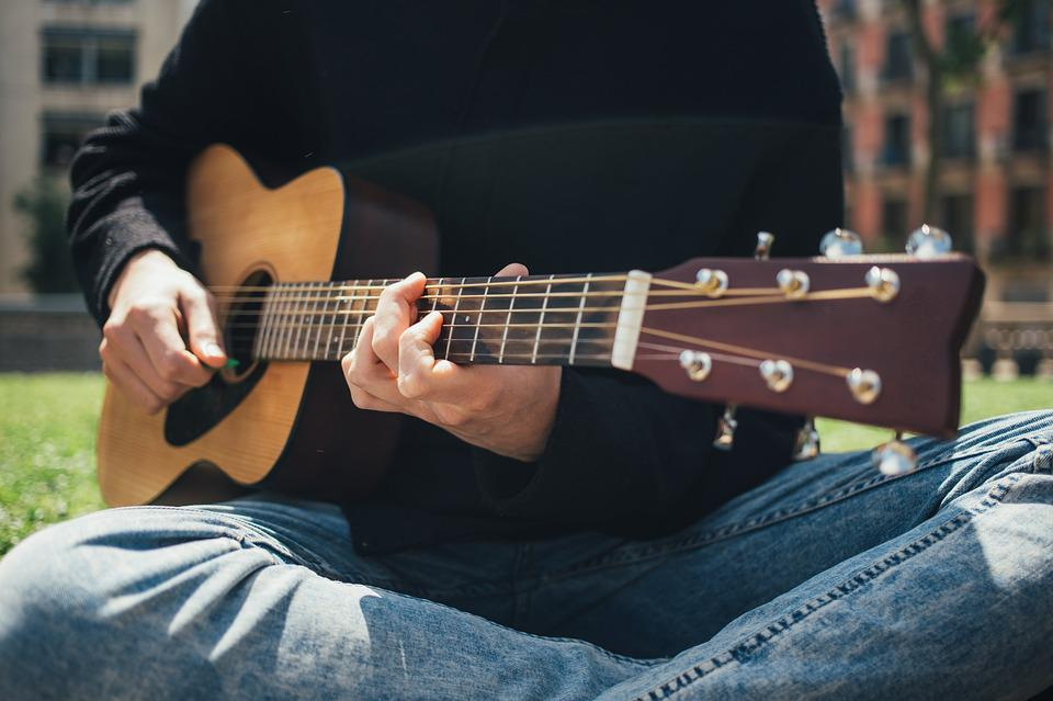 Free Photo Playing Strings Chords Sounds Music Guitar People Max Pixel