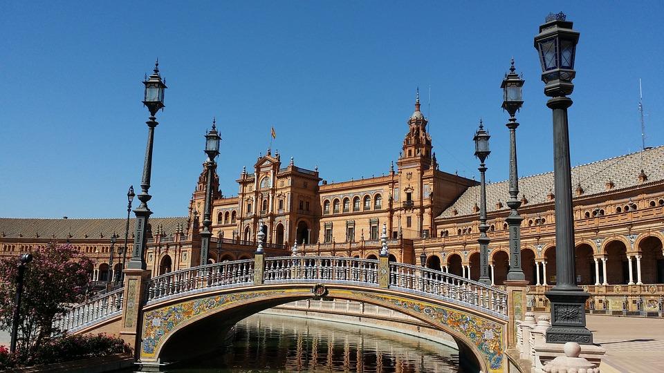 Sevilla, Plaza D'españa, Spain