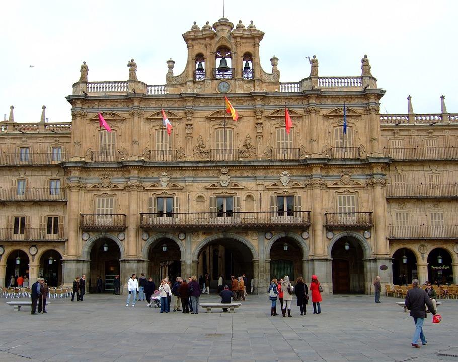 Salamanca, Spain, Architecture, Plaza, Wholesale