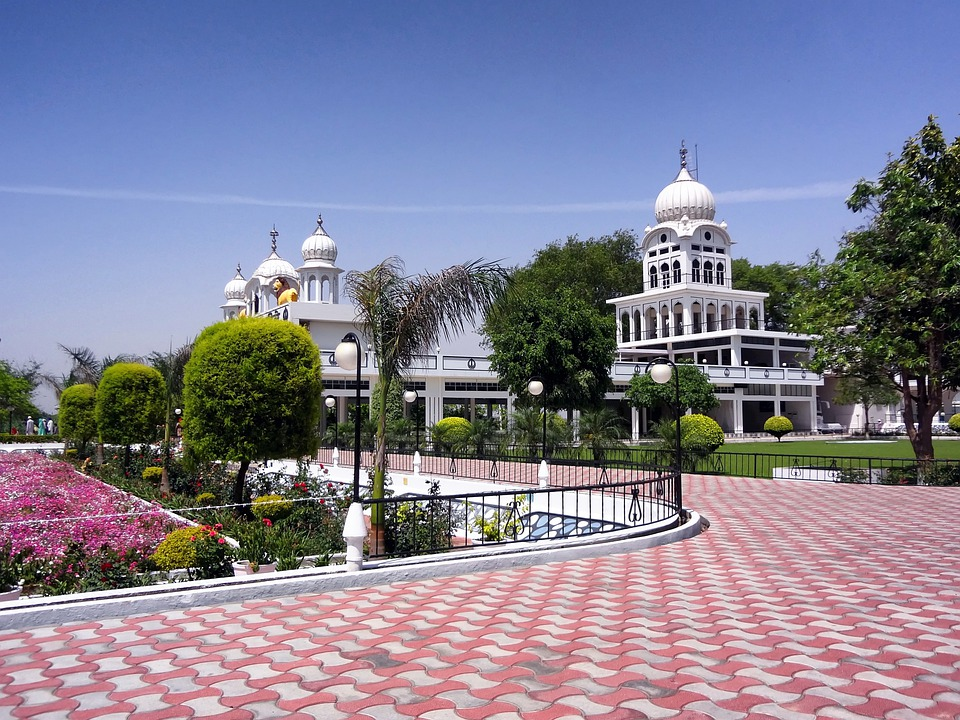 Punjab, India, Temple, Buildings, Architecture, Plaza