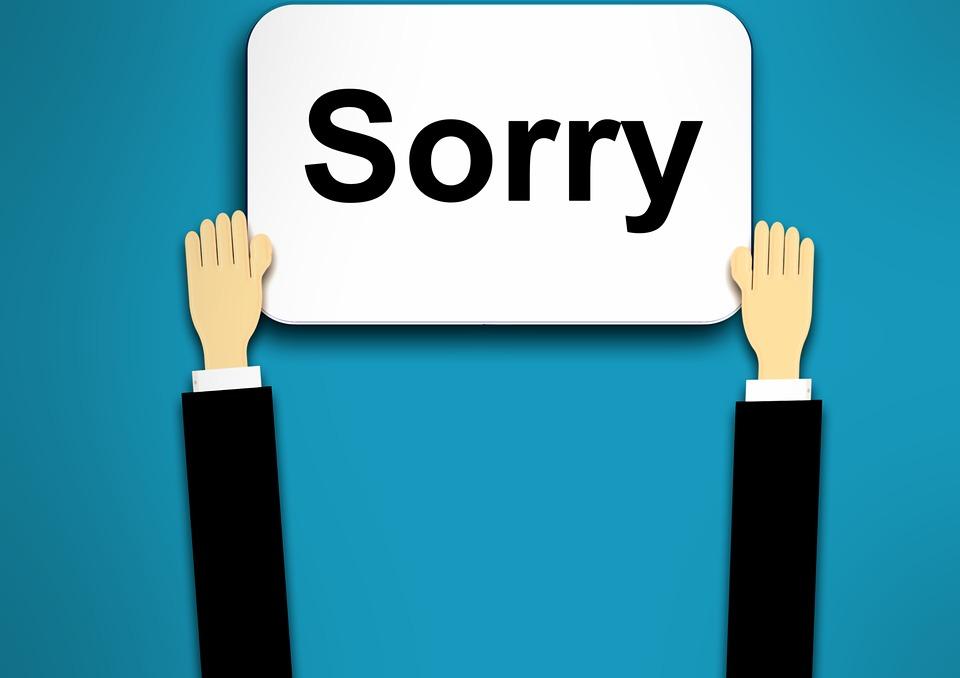 Sorry, Background, Regret, Repentance, Pardon, Please