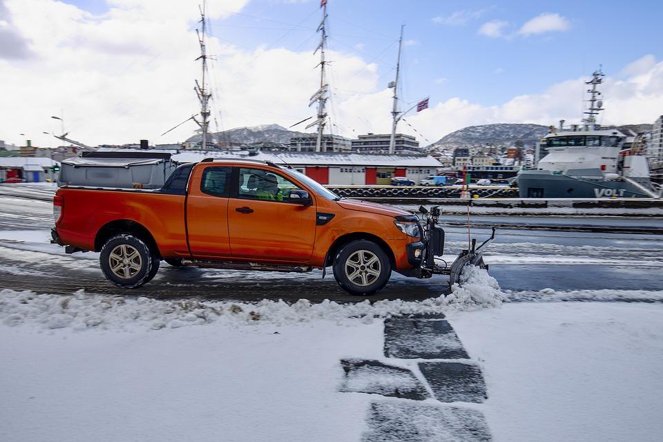Snow, Plow Truck, Snowplow, Snowplough, Snowy, Truck
