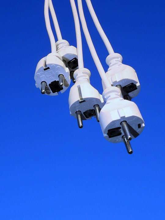 Plug, Cable, Line, Current, Energy, Power Line