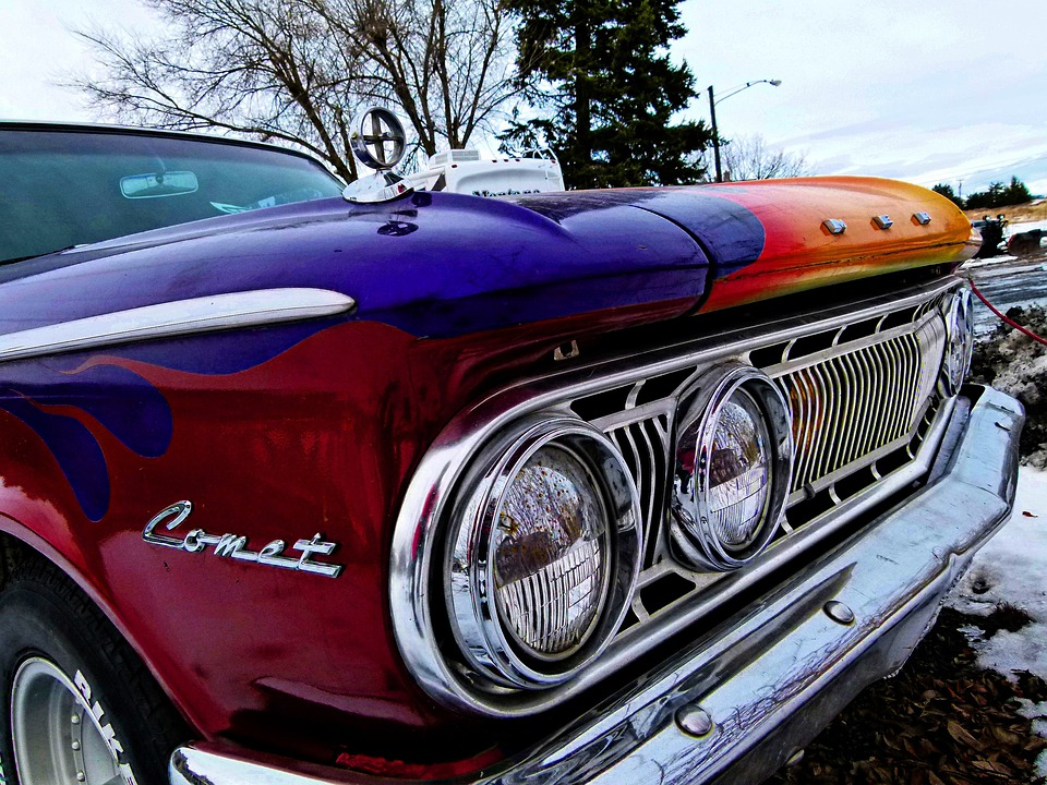 Free photo Plymouth Comet Old Old Timer Car Colorful - Max Pixel