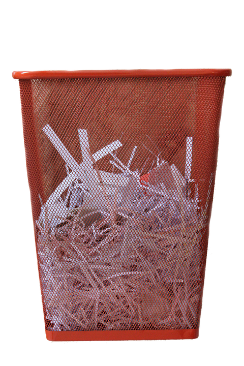 Waste, Paper, Bin, Png, Rubbish, Office, Recycling