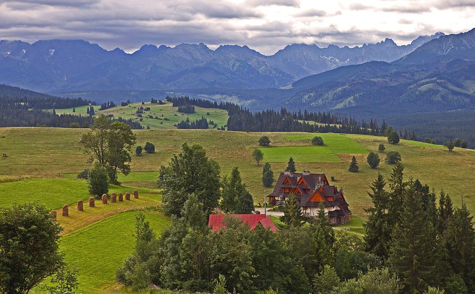 Podhale, The Tatra Mountains, Cloudy Day, Polish