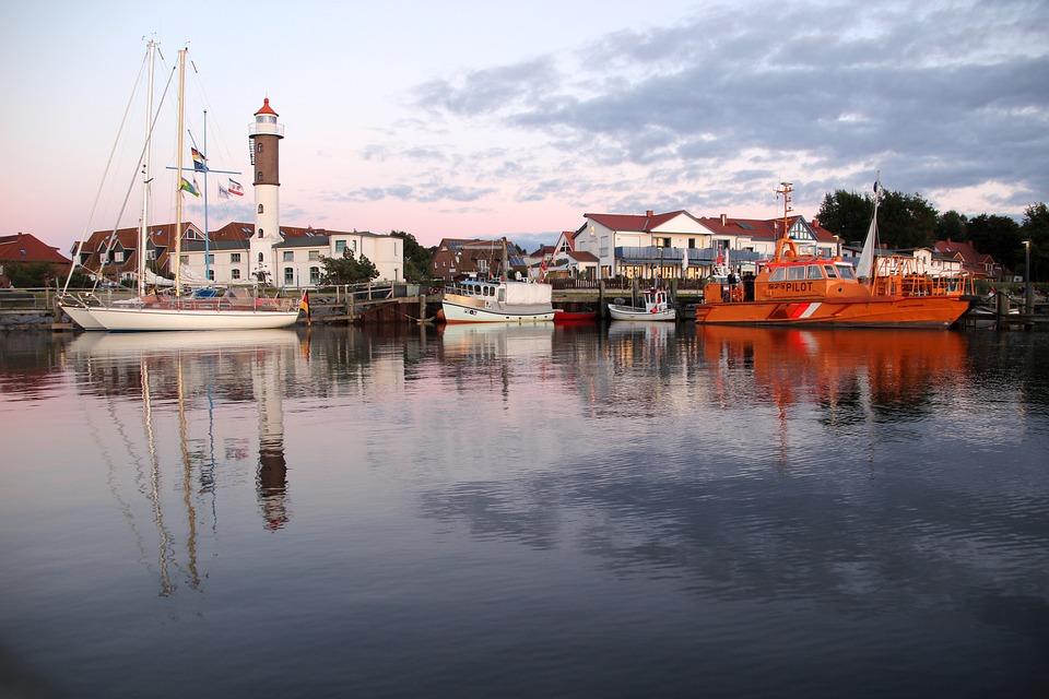 Summer, Sun, Port, Poel, Insel Poel, Sailing Boat