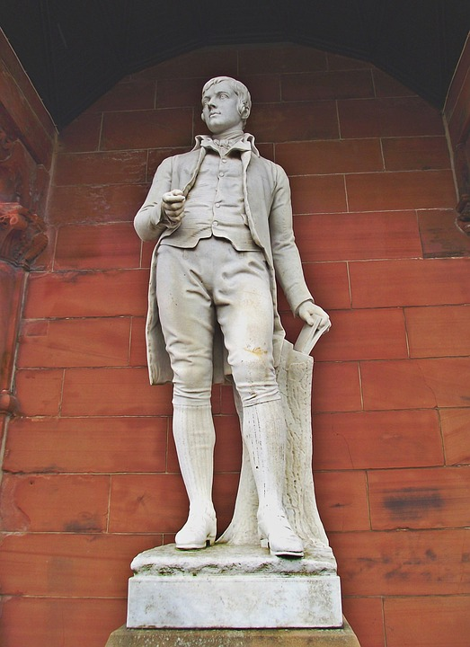 Robert Burns, Statue, Burns, Robert, Scottish, Poet