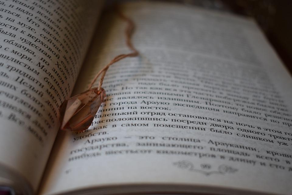 Book, Poetry, Literature, Pendant, Reading, Books
