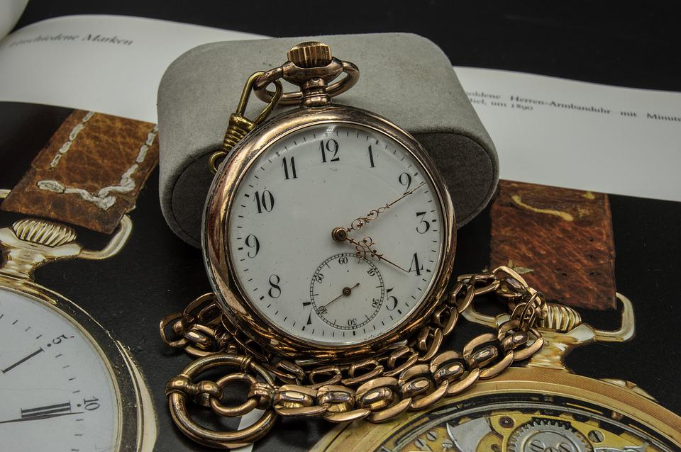 Pocket Watch, Old, Clock, Time Of, Pointer, Dial, Hours