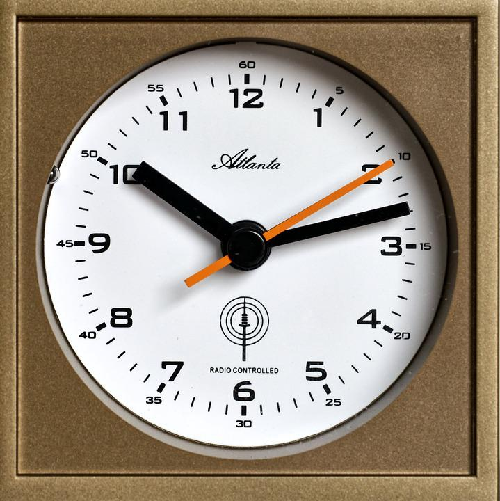 Clock, Time, Time Of, Minutes, Hour, Seconds, Pointer