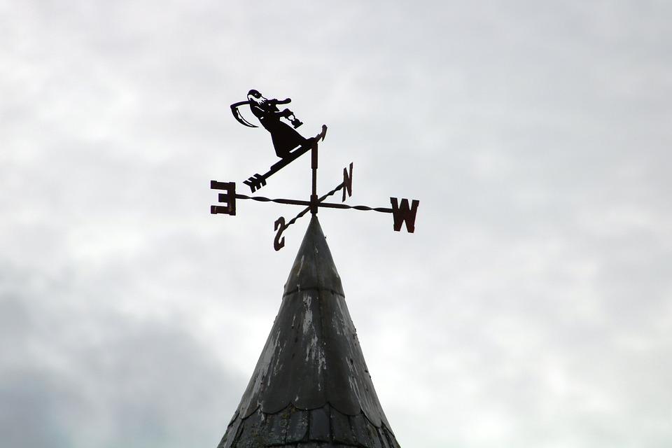 Weathervane, Sign, Weather, Pointer