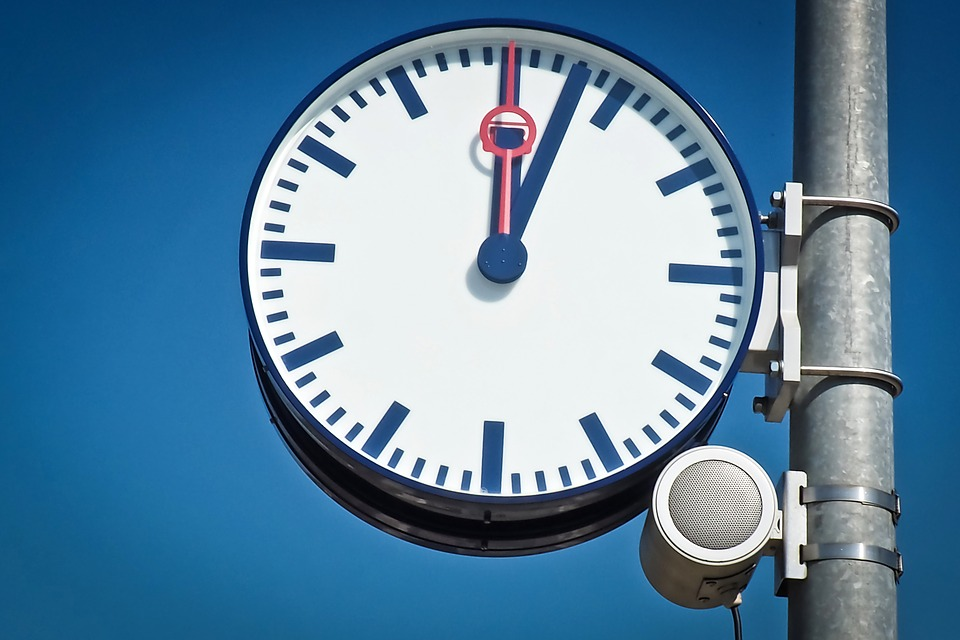 Clock, Clock Face, Pointer, Time, Time Of