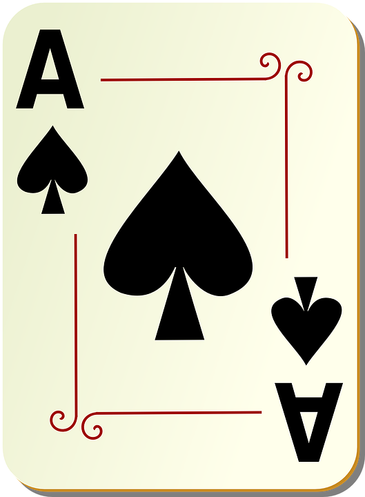 Free photo Poker Deck Game Playing Casino Spades Card Ace - Max Pixel