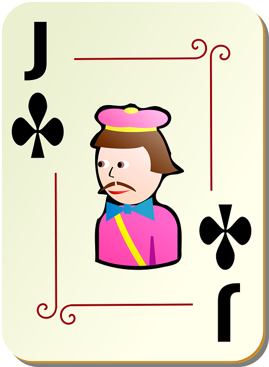 Jack, Clubs, Playing Cards, Poker, Gambling, Card